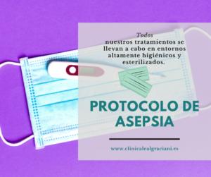 protocolo de asepsia clinica leal graciani