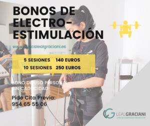 bonos entrenamiento con electroestimulacion